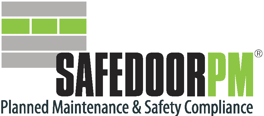 SAFEDOOR PM Commercial Door Maintenance System commercial door repair Commercial Door Repair & Maintenance Services SafedoorPM Registered logo 280px x 140px